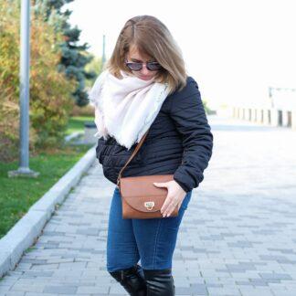 сумочка женская коричневая
