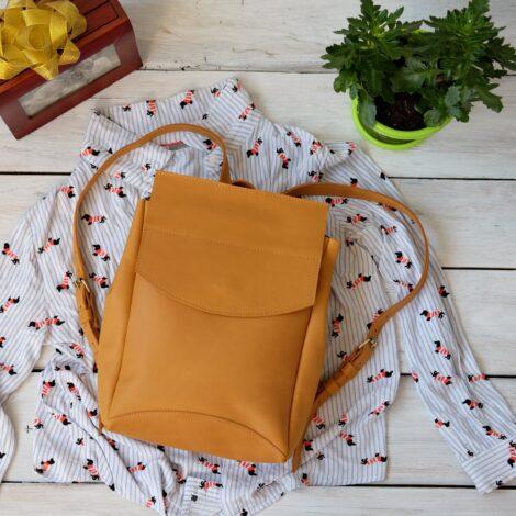 рюкзак женский песочный