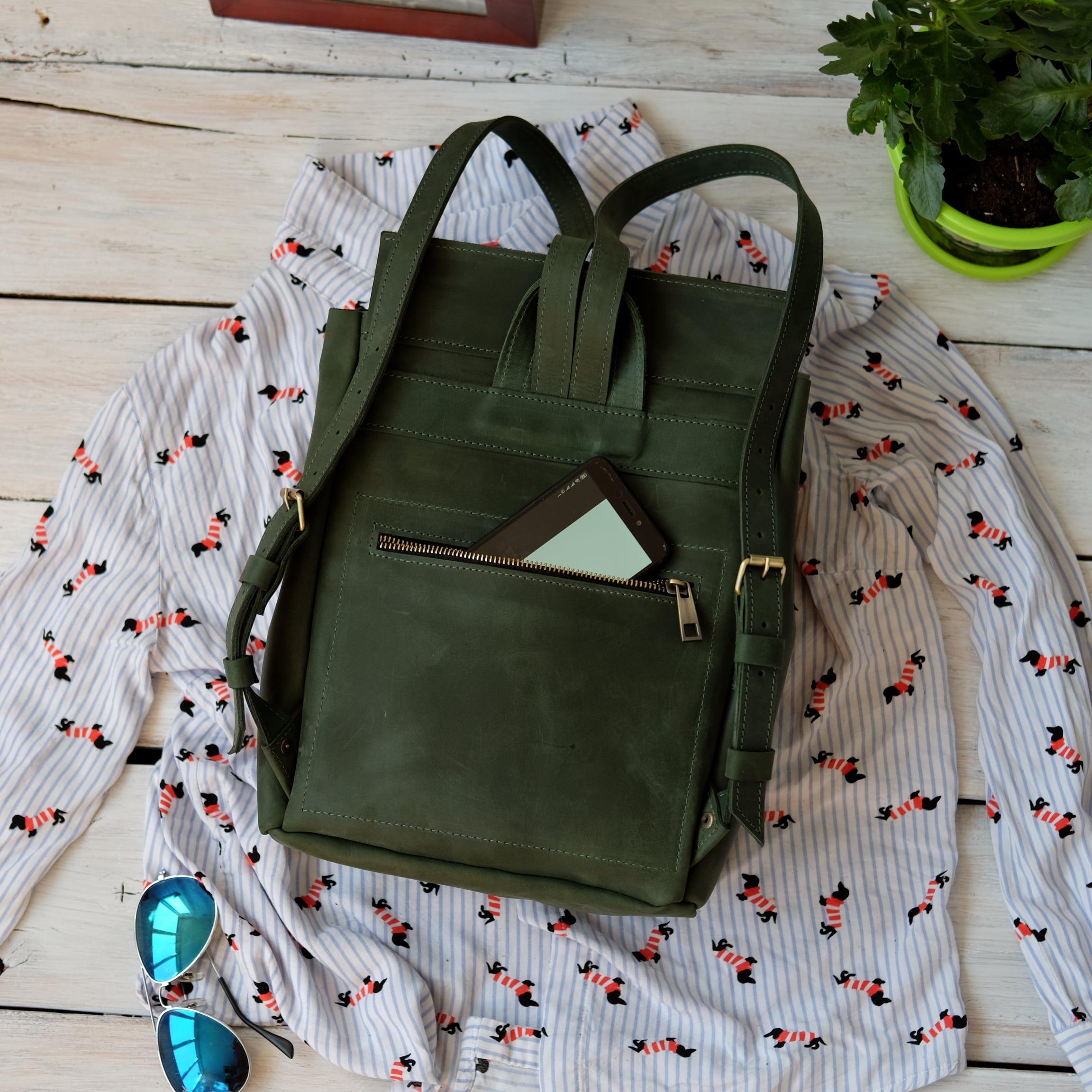женский hand made рюкзак
