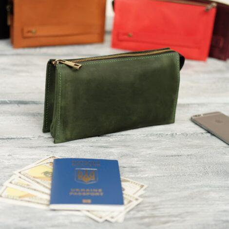 Большой зеленый кошелек