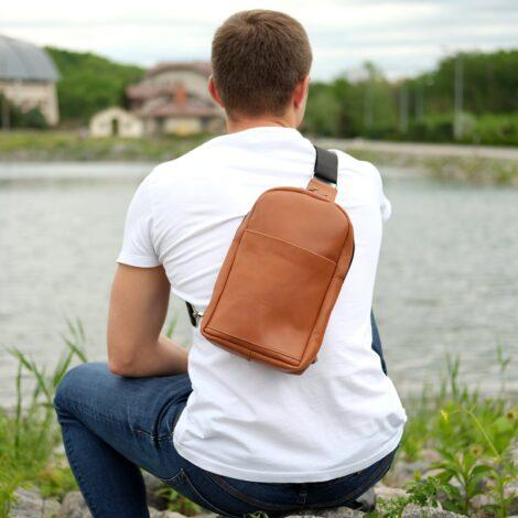 мужская наплечная сумка