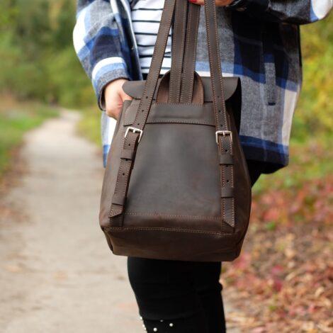 рюкзак на затяжках