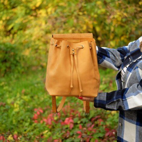 горчичный рюкзак