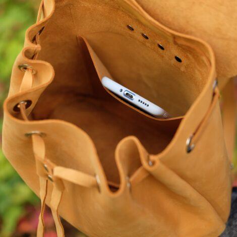 светлый рюкзак